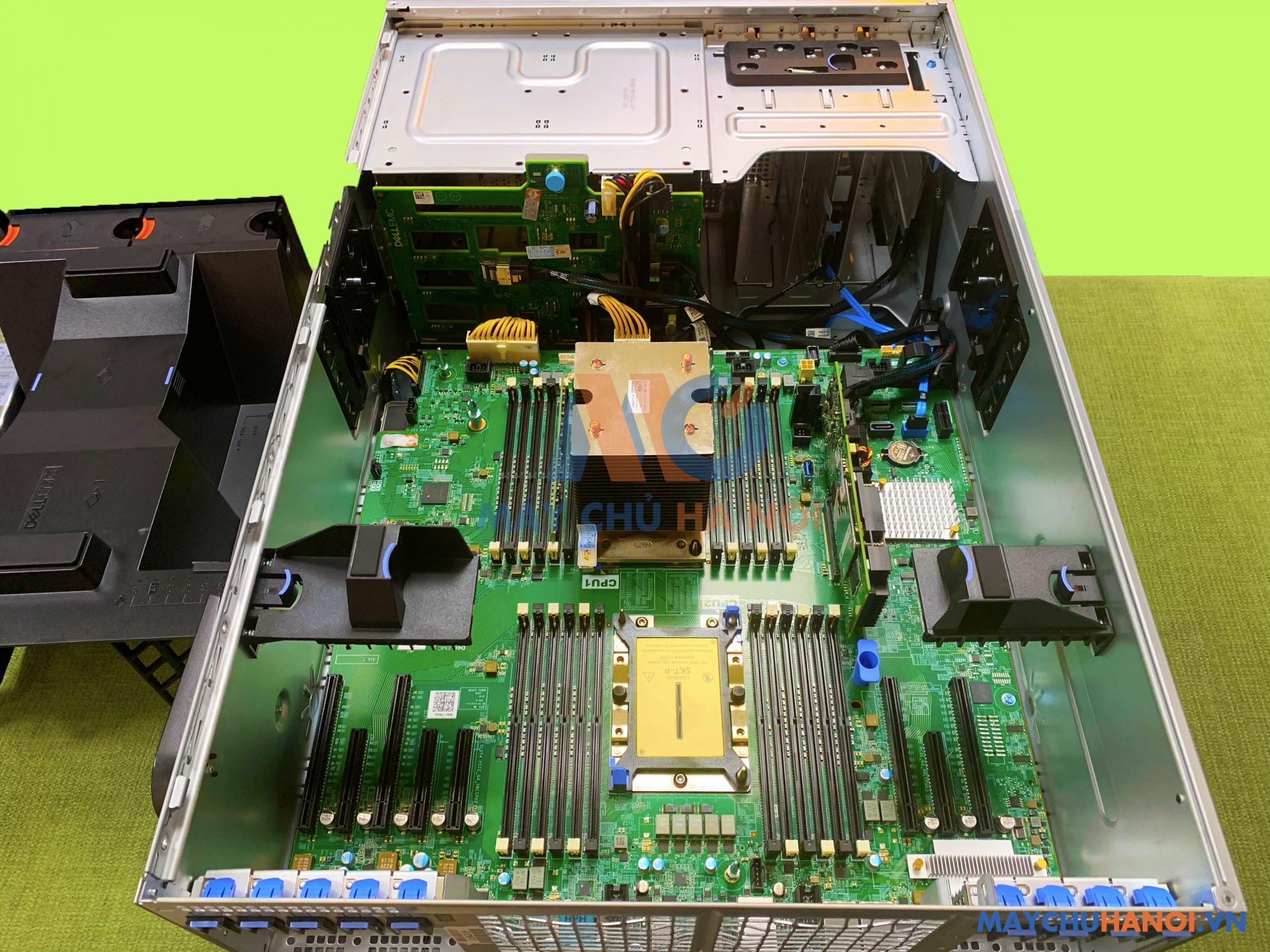 [Review] Máy chủ Dell EMC T640 – Máy chủ 2 socket hiệu suất và dung lượng lớn nhất trong các dòng máy chủ.