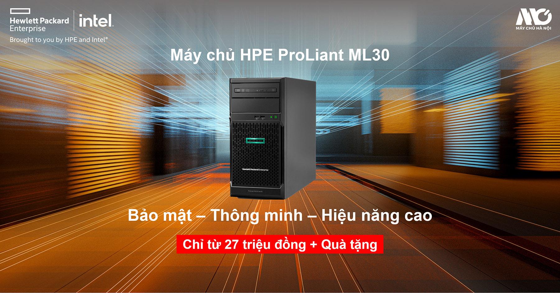 Khuyến mãi mua máy chủ HPE tặng bộ lưu điện trị giá 1tr200.000 vnđ